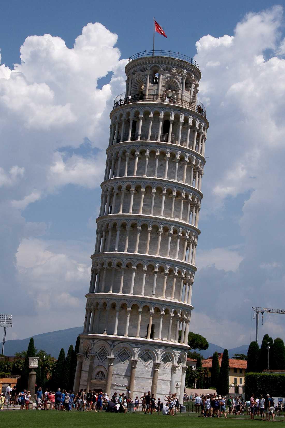 Der schiefe Turm zu Pisa